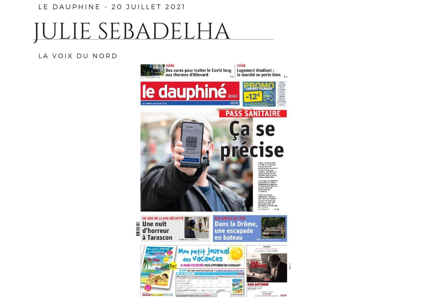 Le Dauphiné - 20 juillet 2021