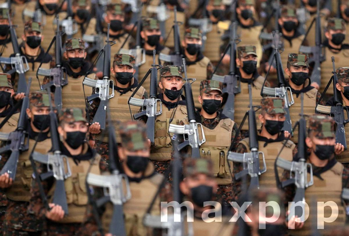 More than 10,000 soldiers are part of a plan against gangs in El Salvador