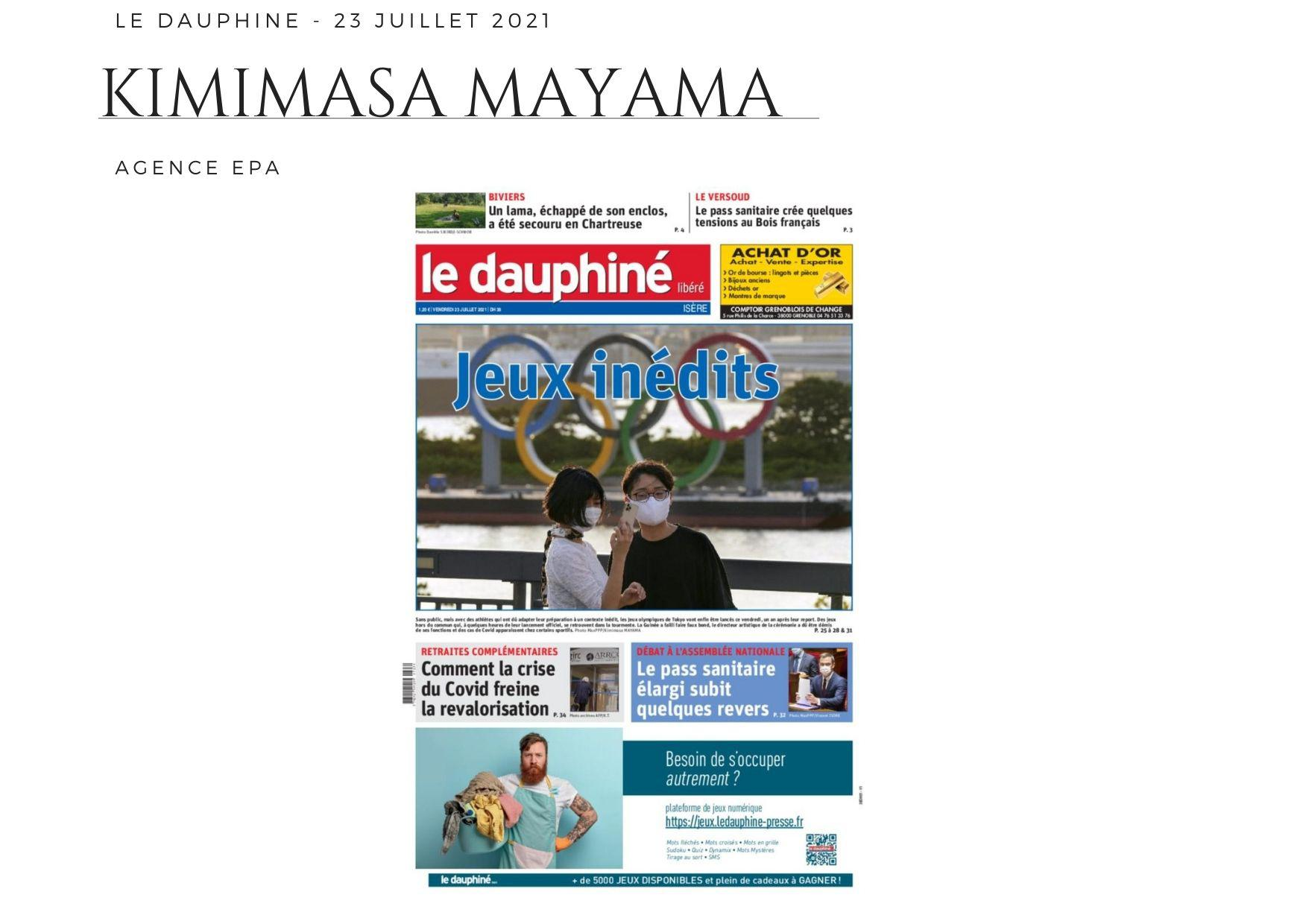 Le Dauphiné Libéré - 23 juillet 2021