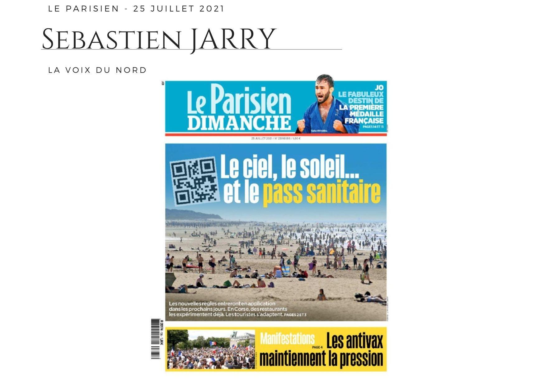 Le Parisien - 25 juillet 2021