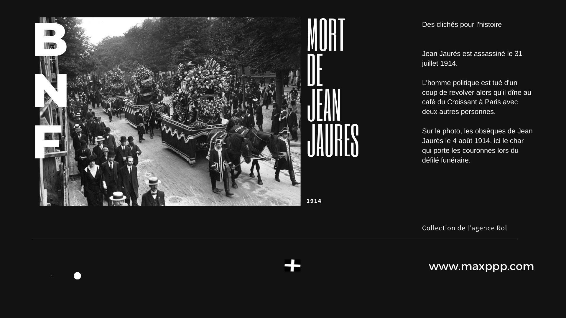 Obsèques de Jean Jaurès