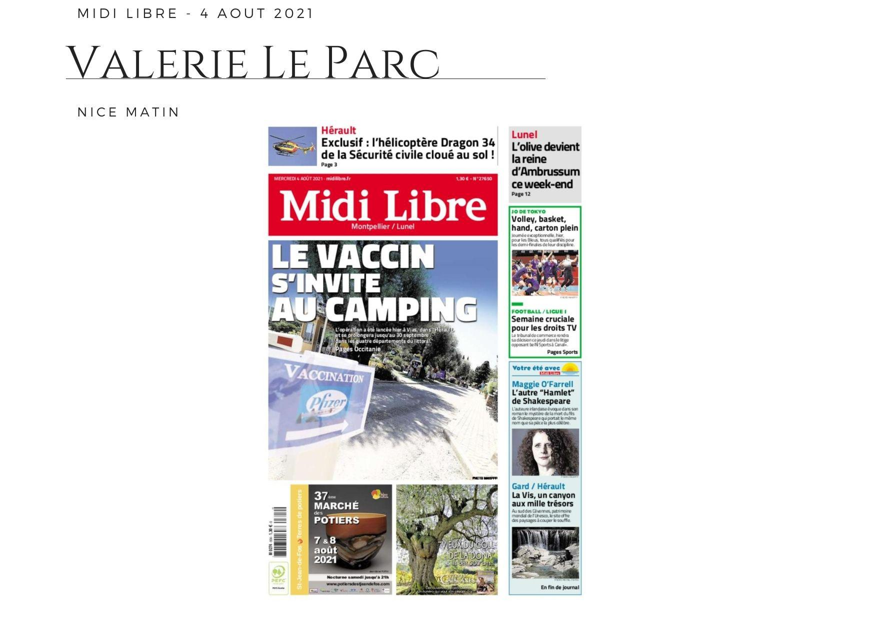 Midi Libre - 4 août 2021