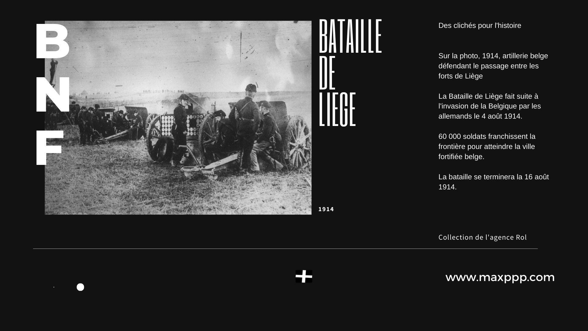 Bataille de Liège, 1914