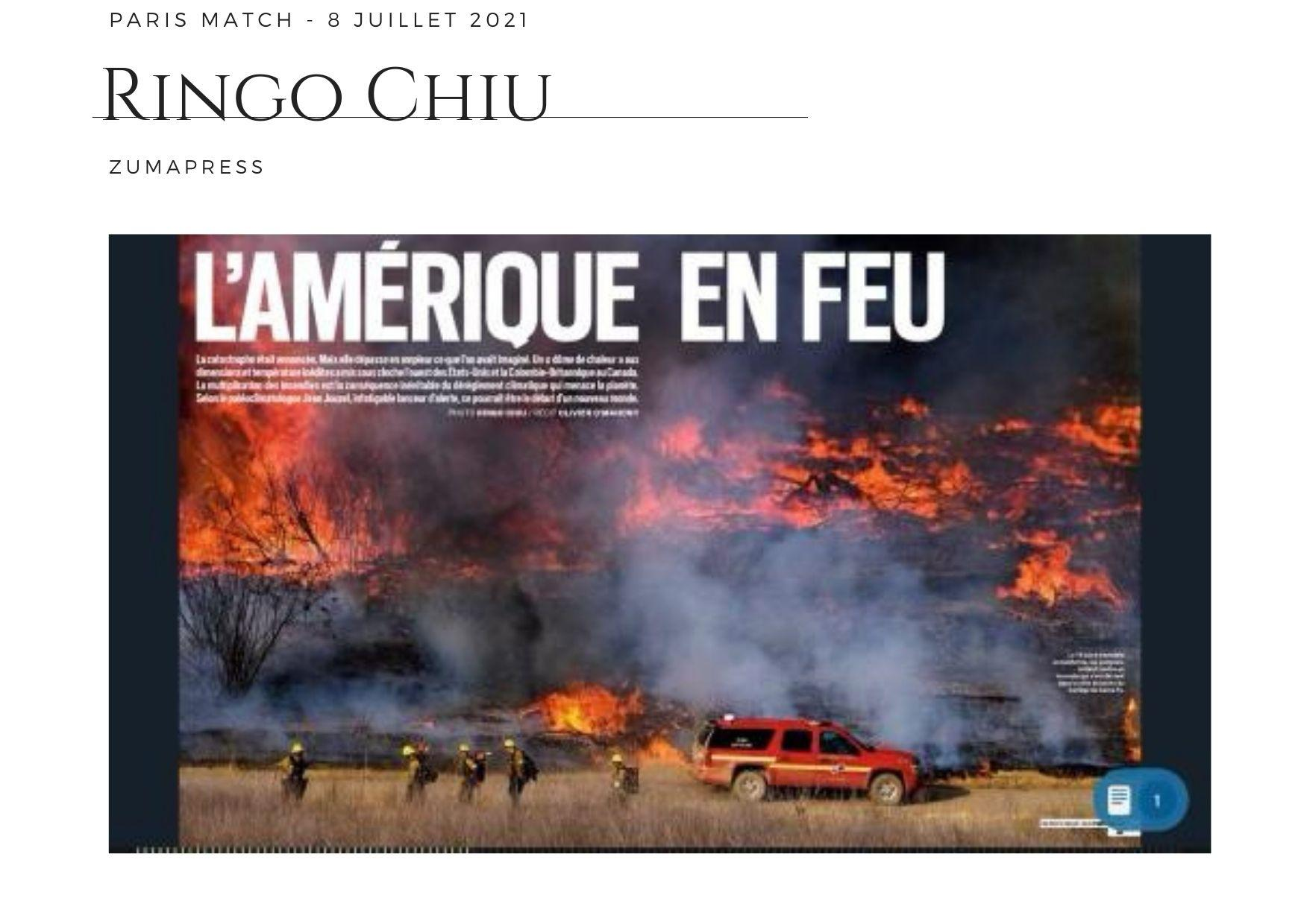 Paris Match - 8 juillet 2021