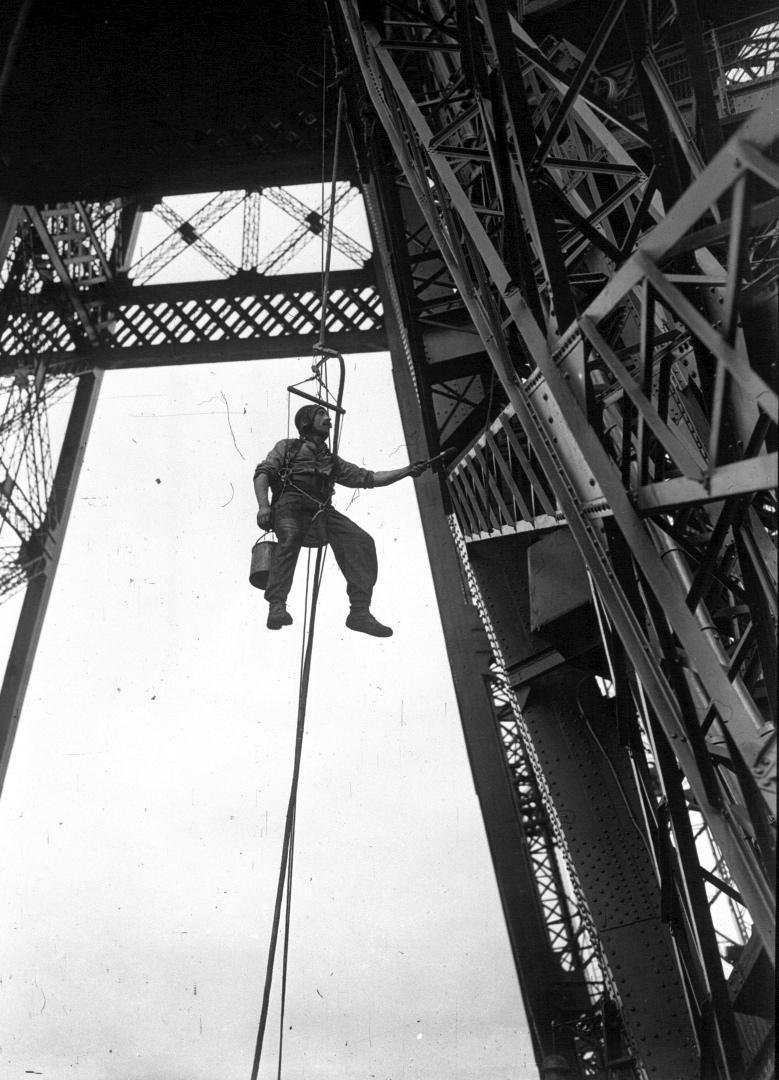 Réfection de la Tour Eiffel
