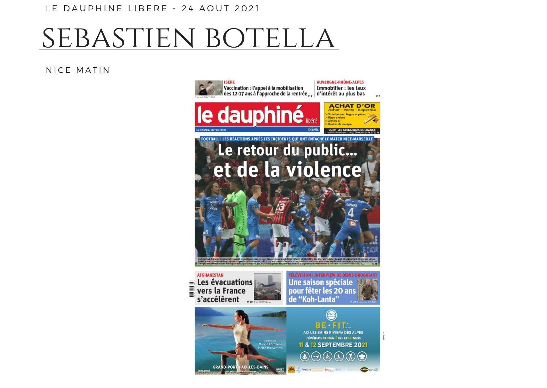 Le Dauphiné Libéré - 24 août 2021