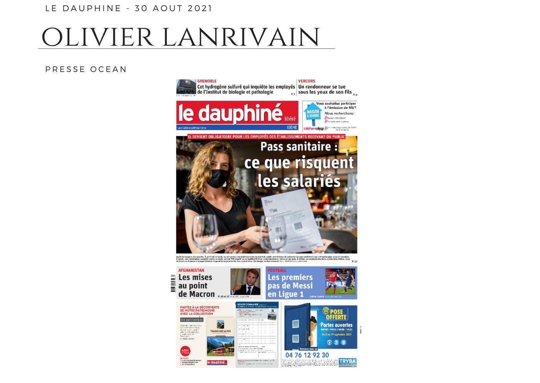 Le Dauphiné - 30 août 2021