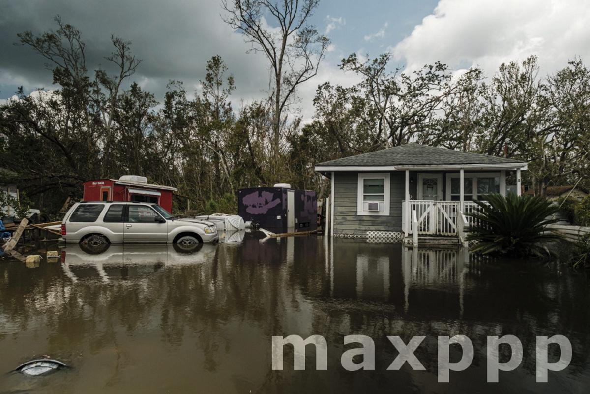 Hurricane Ida aftermath in Louisiana