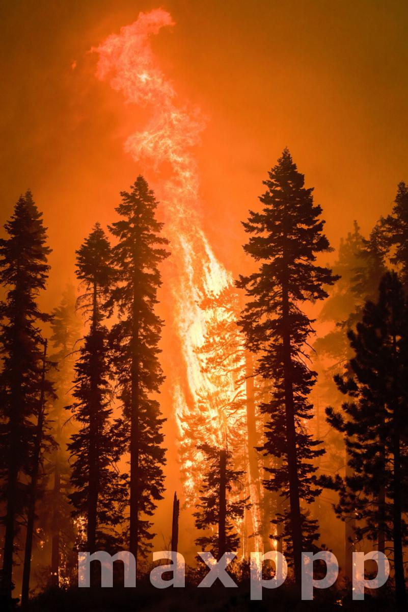 Devastating Caldor Fire continues in California