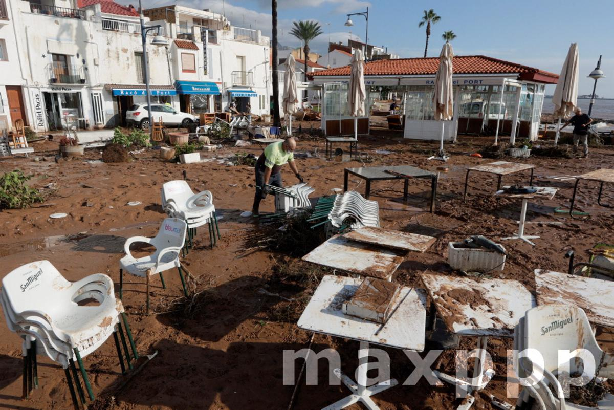 Heavy rains cause damages in Catalonia