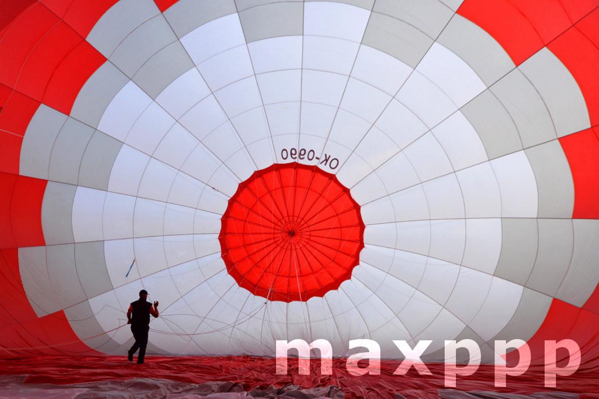 Hot Air Balloon Festival In Czech Republic