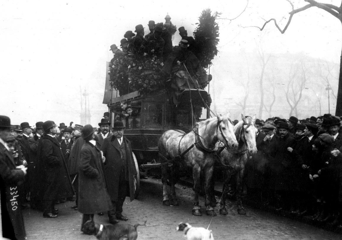 Enterrement du dernier omnibus