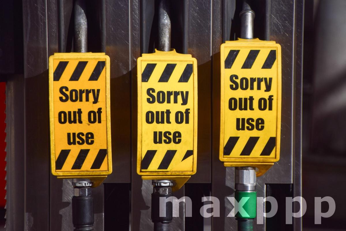 Fuel shortage, London