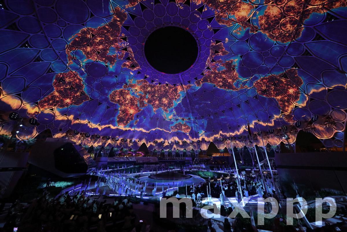 The opening ceremony of EXPO 2020 Dubai