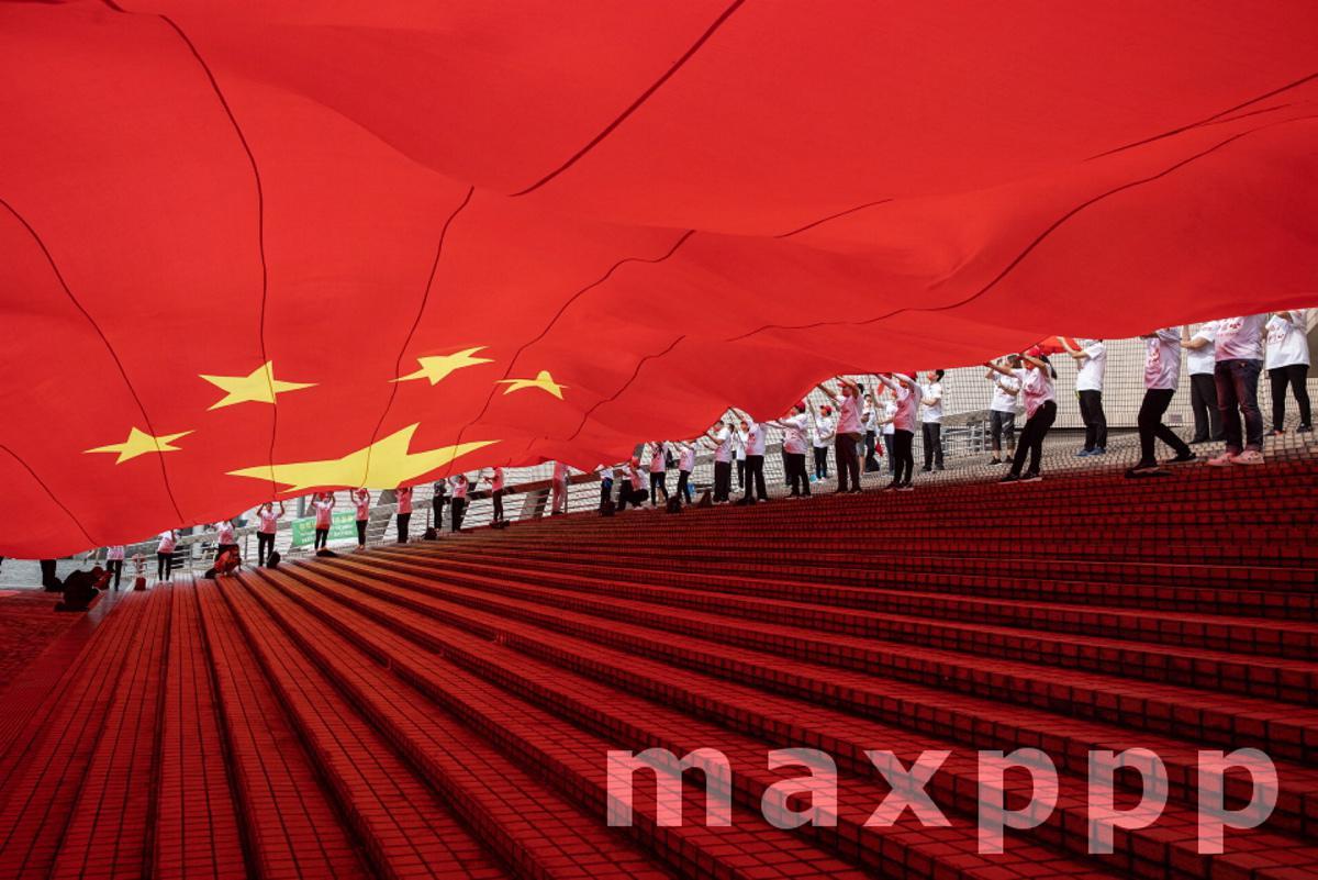 China Hong Kong National Day