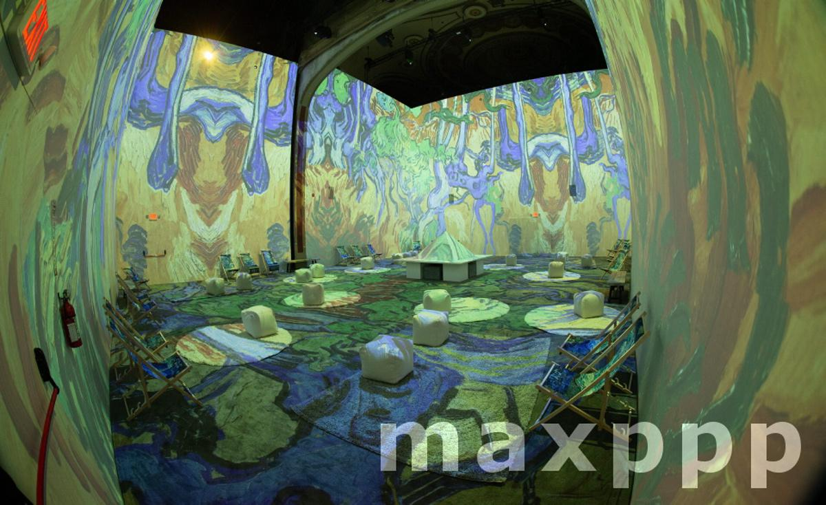 Van Gogh Immersion Experience Boston