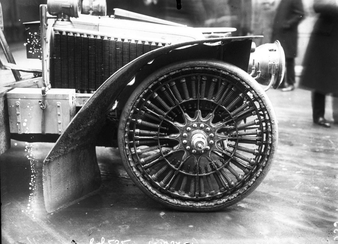 Concours de roues élastiques
