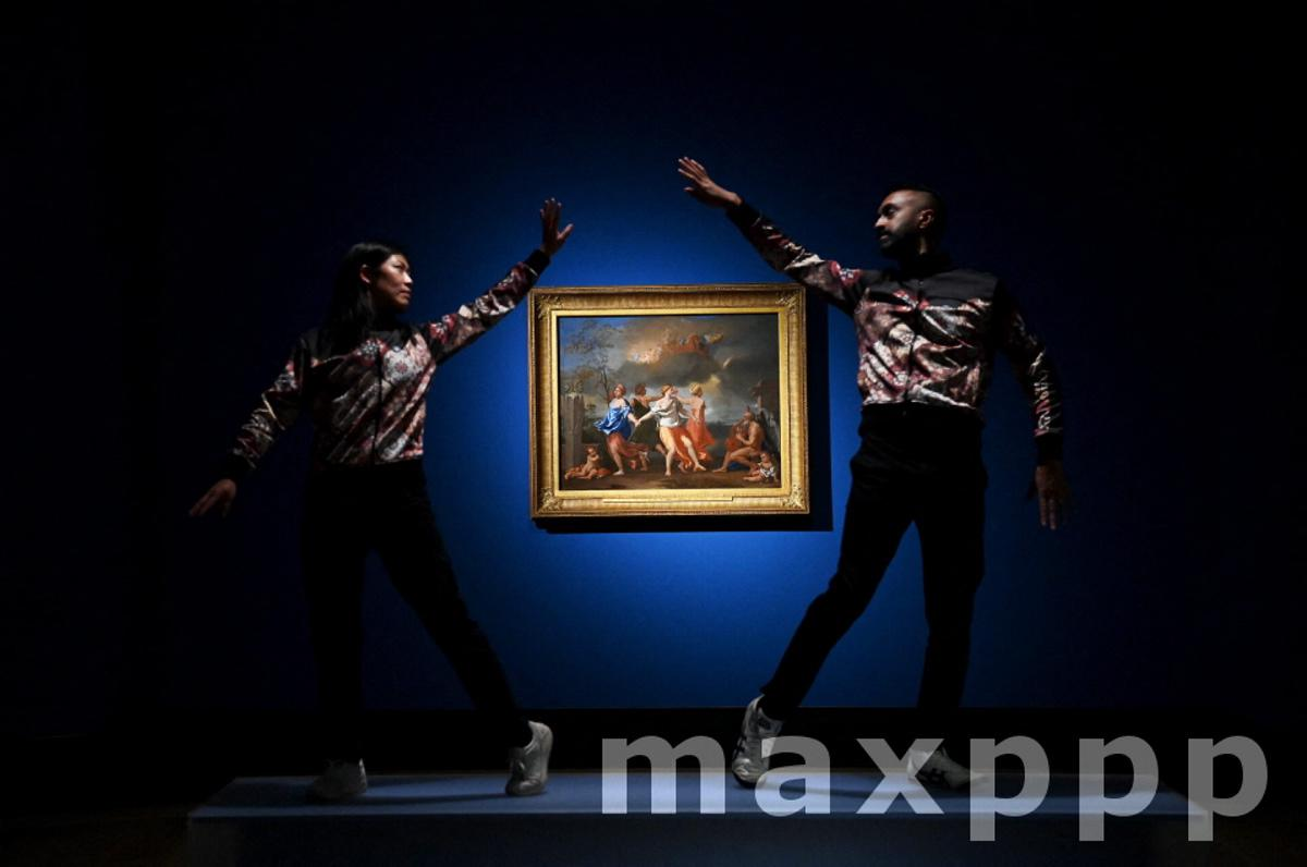 Poussin and the Dance at the National gallery