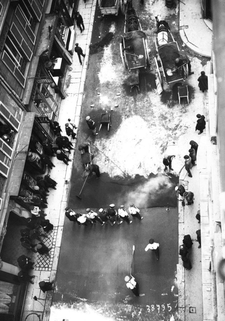 Pavage des rues de Paris