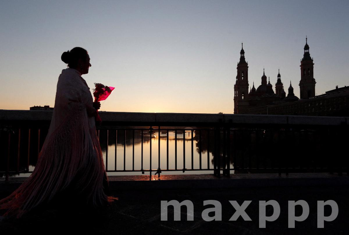 Day of the Our Lady of the Pillar in Zaragoza