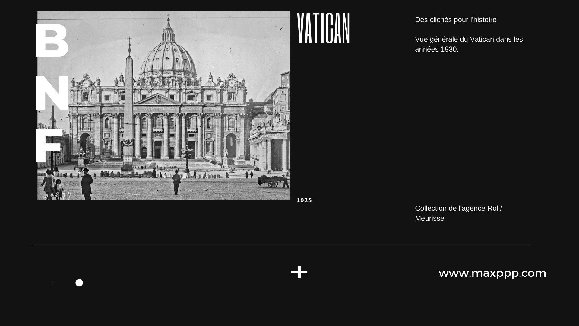 Vue du Vatican
