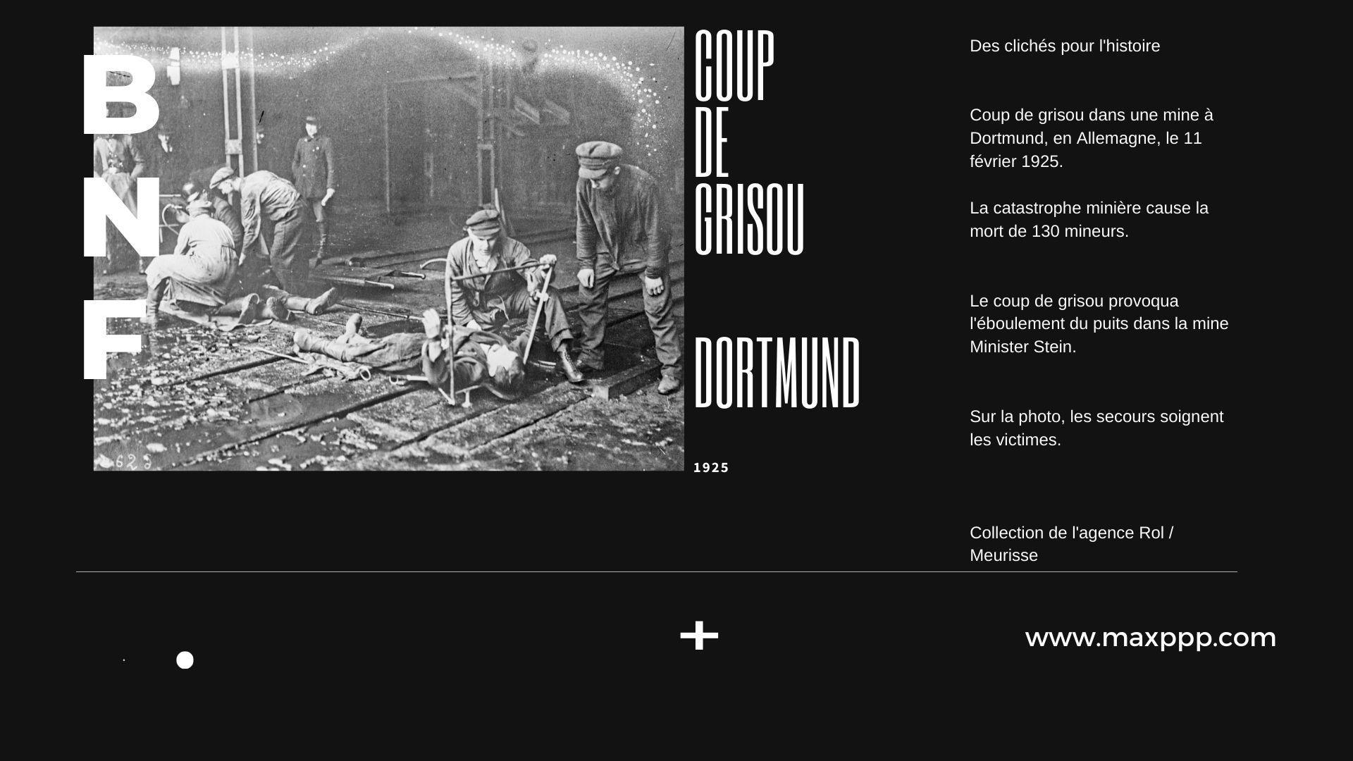 Coup de grisou à Dortmund