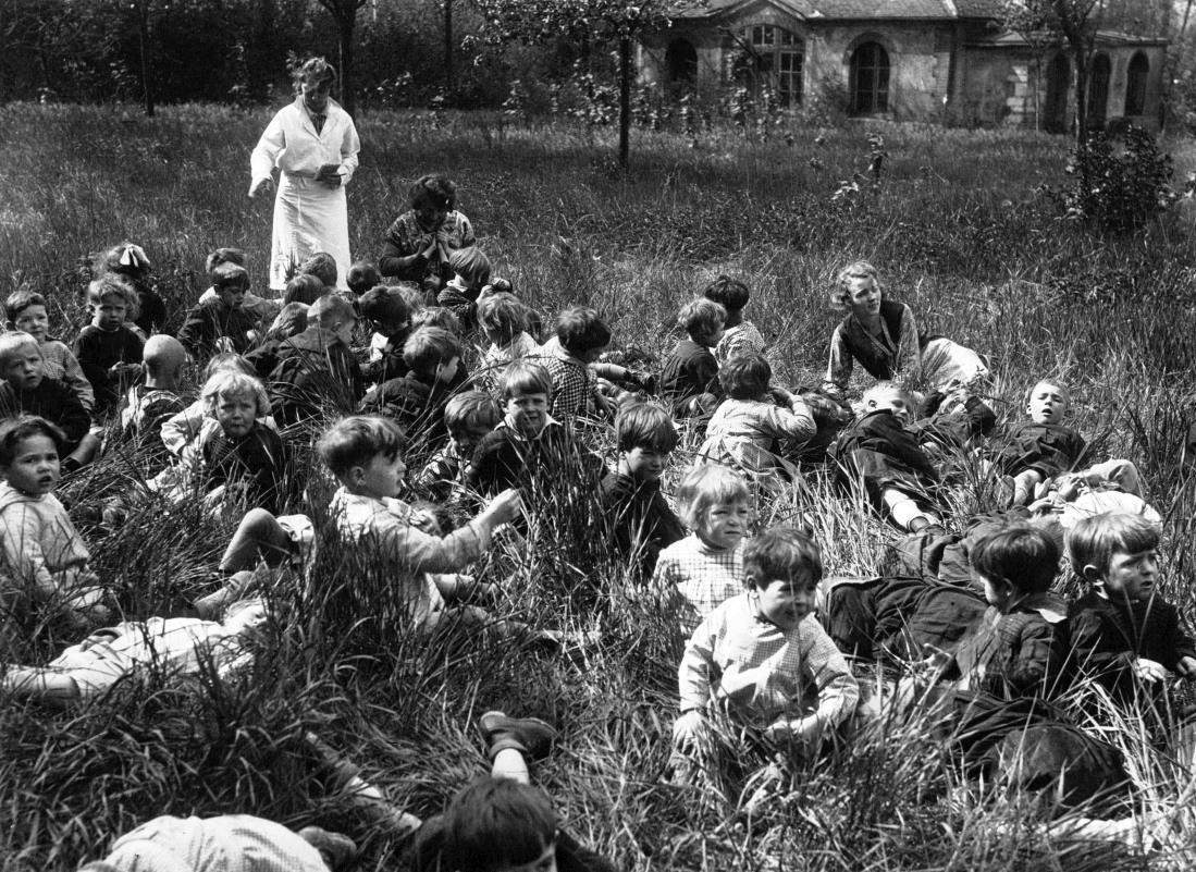Ecole de plein air, 1921