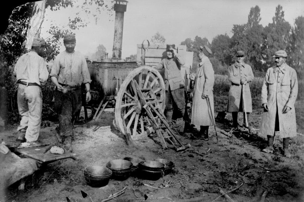 Première Guerre Mondiale - cuisine roulante