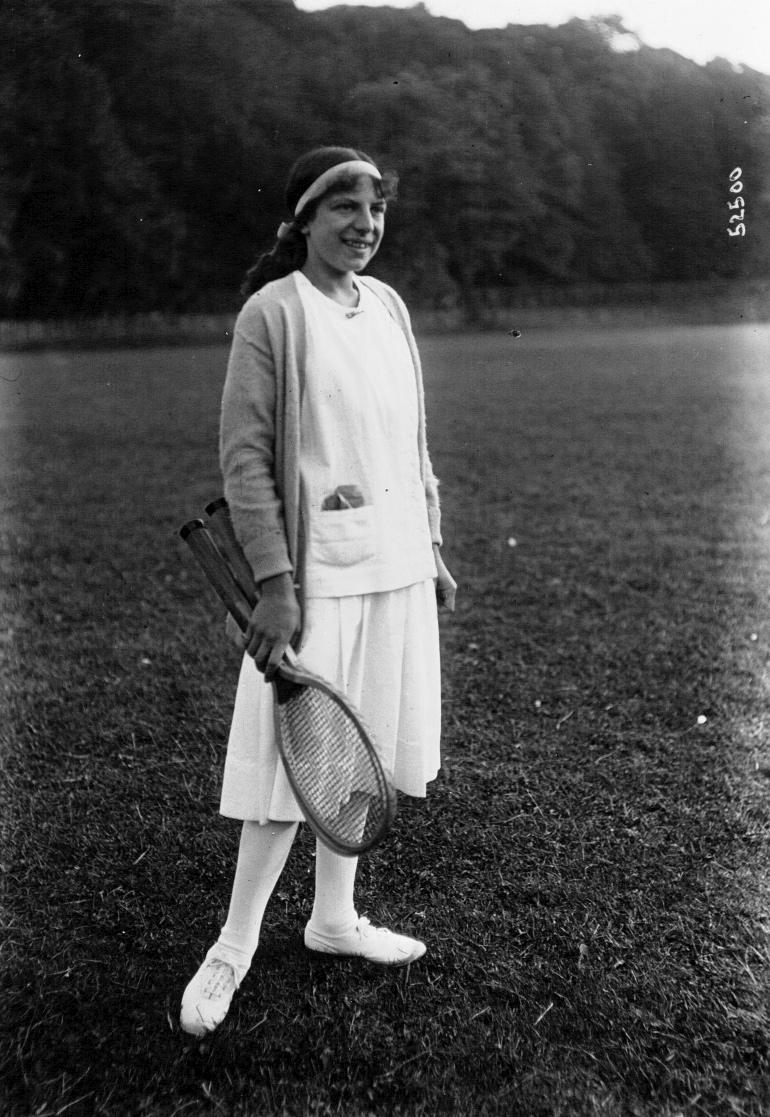 Suzanne Lenglen, 1914