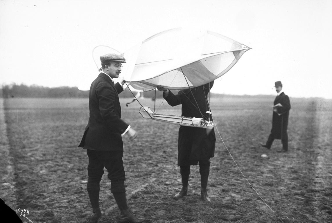 Cerfs volants, 1911