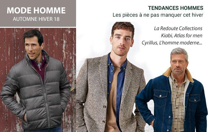 L'Homme Moderne, Atlas for Men, La Redoute : la mode homme