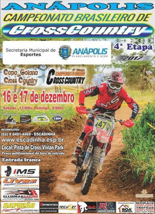 Final do Brasileiro de Cross Country será em Anápolis