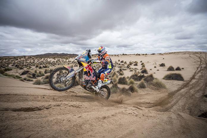 Resultados da abertura do Rally Dakar 2018