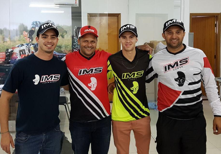 IMS Racing contrata Pepê Bueno para correr no Brasil e no AMA Motocross 2018