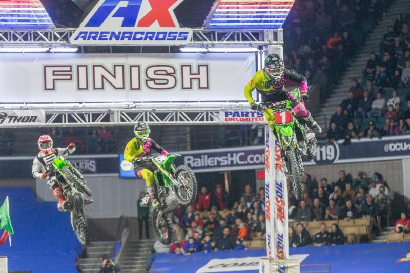 Segunda vitória consecutiva 250AX para Gavin Faith na 2ª etapa de 2018 AMSOIL Temporada Arenacross