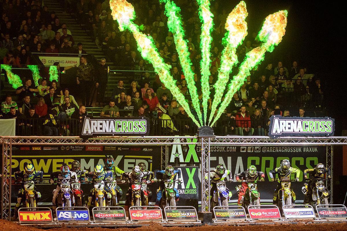 A terceira etapa do Power Maxed Arenacross UK, forneceu a Arena Genting abarrotada com mais uma intensa ação de corrida de três horas