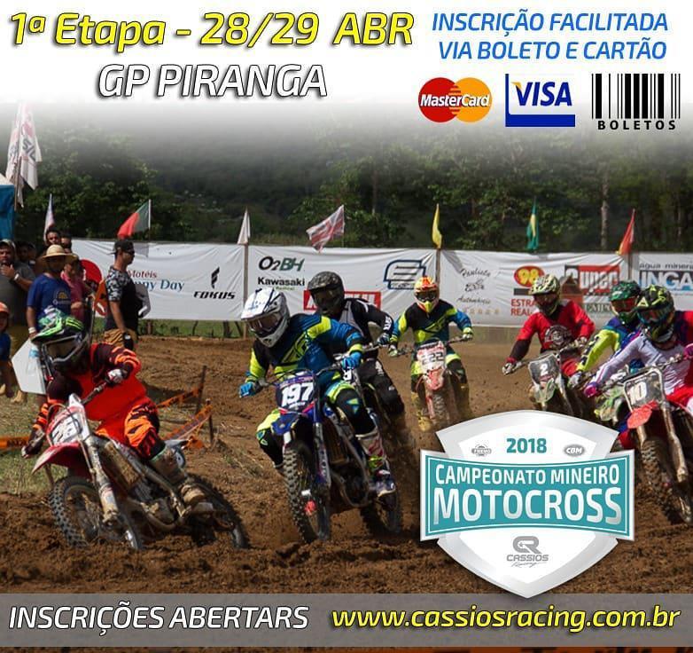 Mineiro de Motocross abre inscrições para o GP Piranga com desconto para mulheres e crianças