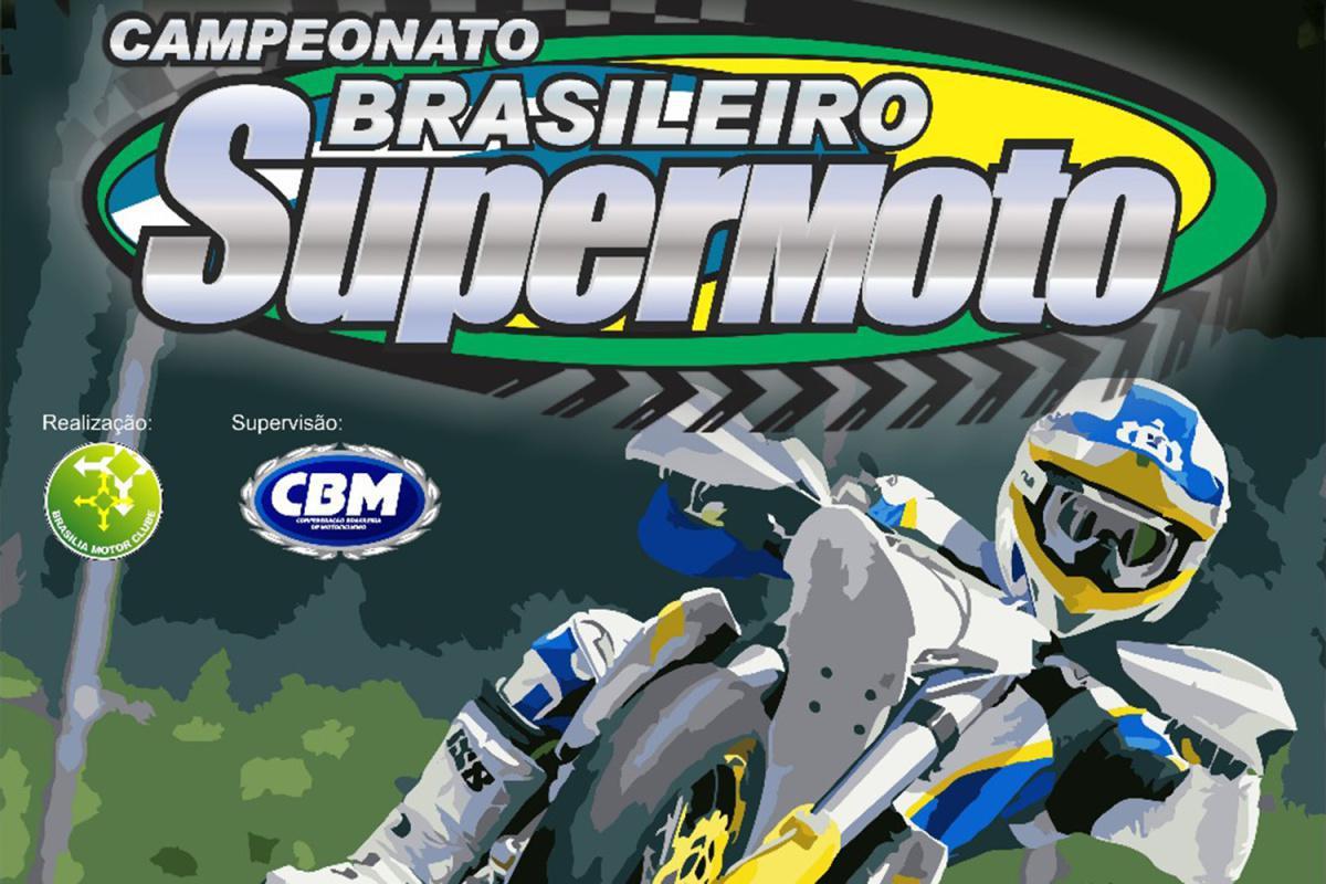 No próximo domingo (22) será dada a largada no Campeonato Brasileiro de Supermoto