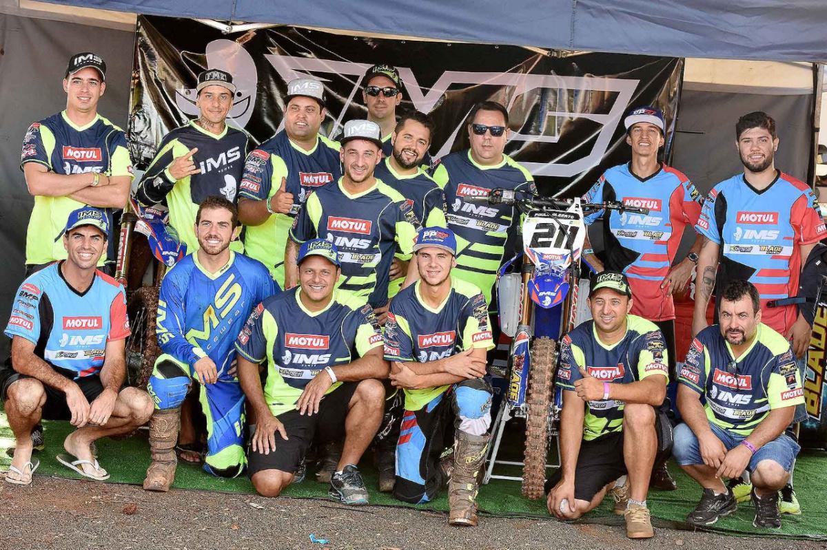 IMS RACING faz pódio com vários pilotos na 2ª etapa do Brasileiro de Motocross