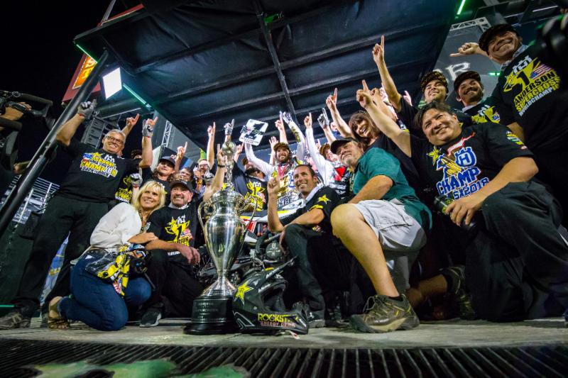 Jason Anderson coroado campeão de AMA Supercross 2018