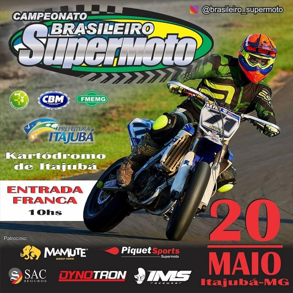 2º etapa do Brasileiro de Supermoto dia 20 de maio -Itajubá- MG
