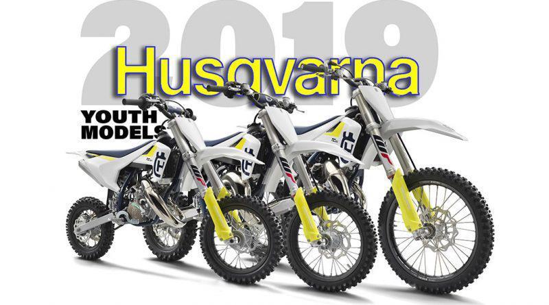 Novas Husqvarna 2019- TC85,bTC65 E TC50