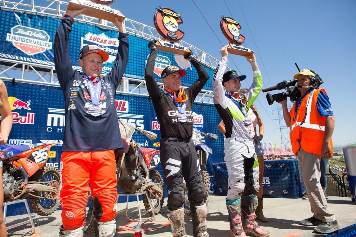 AMA MX 250cc: Jeremy Martin venceu a 3ª etapa