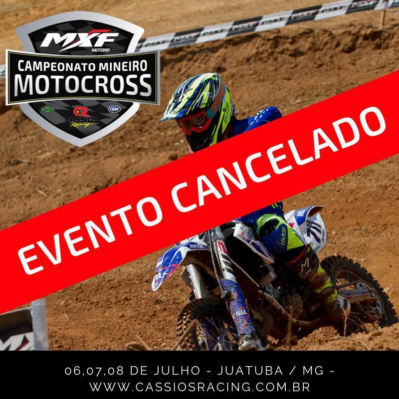 Prefeitura de Juatuba cancela 2ª etapa do MXF Campeonato Mineiro de Motocross