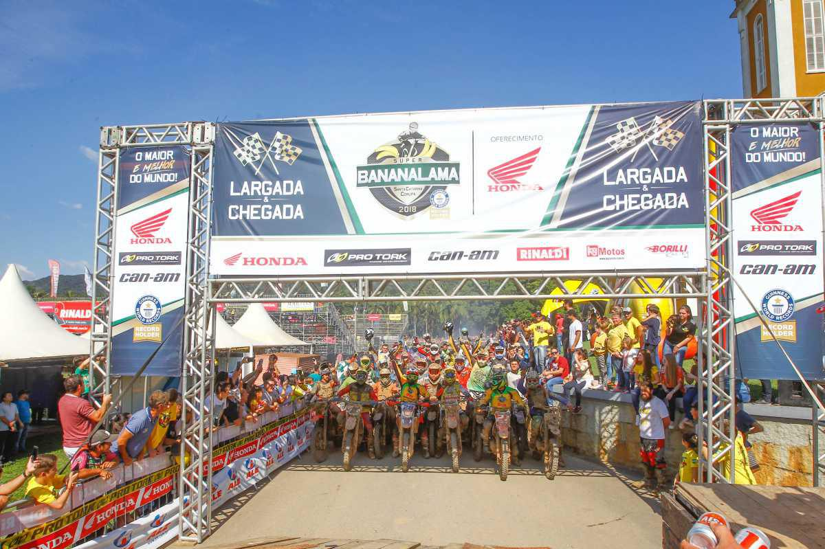 Super Bananalama 2018 reúne 55 mil pessoas em quatro dias de evento em Corupá (SC)