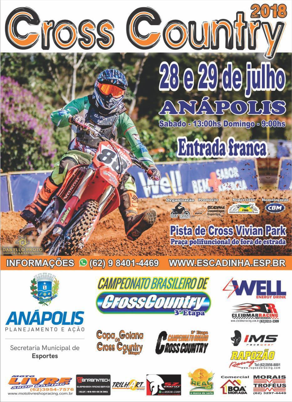 Anápolis (GO) já é tradição no calendário do Brasileiro de Cross Country