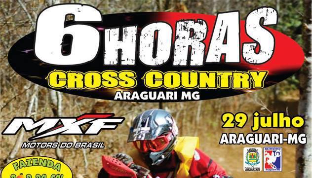 Mais um evento sobre a chancela FMEMG ! 06 Horas Cross Country 29/07 Araguari/MG
