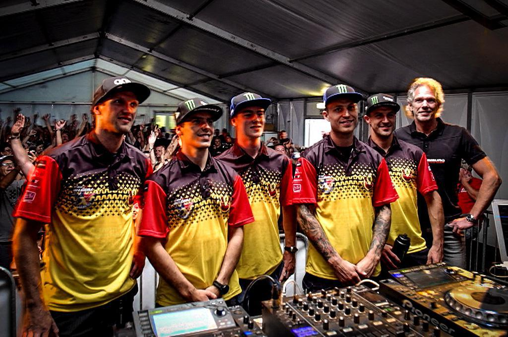 2018 MXoN - Team Belgium Apresentado em Lommel