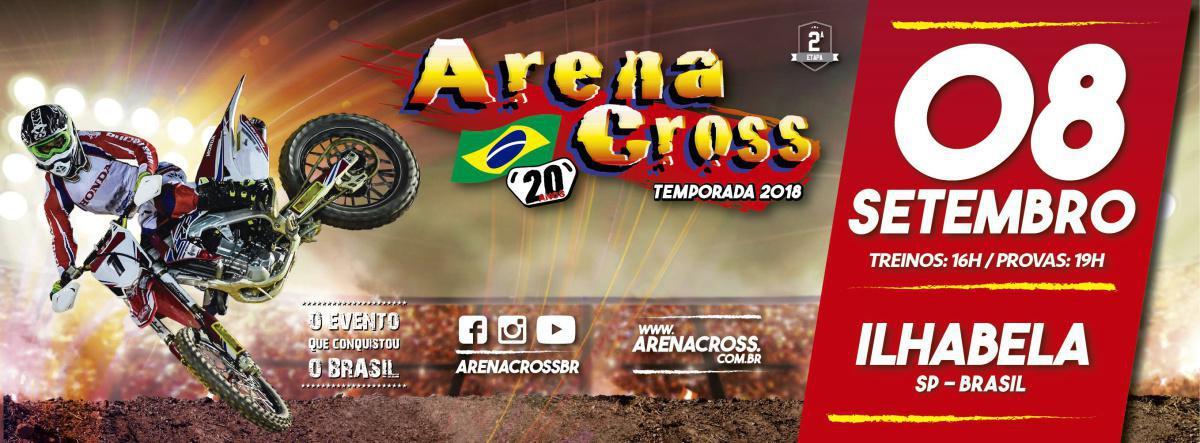 Confira a situação do campeonato antes da etapa de Ilhabela do Arena Cross