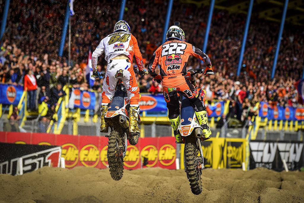 História para Herlings como campeão do MXGP 2018 enquanto Jorge Prado vence na Holanda